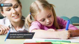 Çocuklarda algılamayı güçlendirmek için neler yapabiliriz?